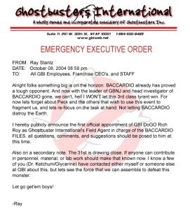 GBI® Executive Order!