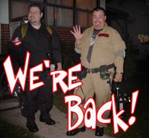 """""""We're back!"""""""